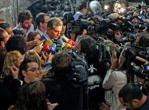 Costa y la prensa