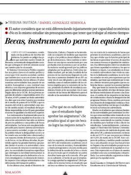 Becas, instrumento para la equidad